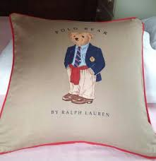 sold most items are 1 of u0027s throw pillow polo bear by ralph