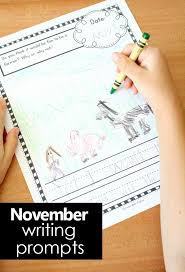 thanksgiving journal november writing journal prompts for kids fantastic learning
