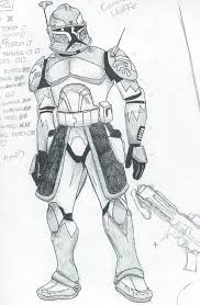 star wars the clone wars commander wolffe by spark theory on