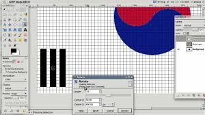 I Am The Flag How To Draw The Flag Of South Korea Using Gimp Youtube
