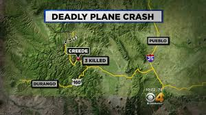 Creede Colorado Map by Plane Taking Aerial Pictures When It Crashed Near Creede Cbs Denver