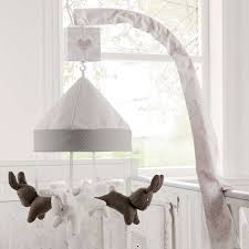 White Nursery Curtains by Dorma White Bunny Meadow Nursery Cot Mobile Dunelm Nursery