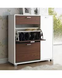 White Shoe Storage Cabinet Amazing Cyber Monday Savings On Baxton Studio Chateau Shoe Storage