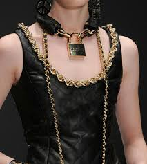 lock necklace punk images Cheap gold chain lock find gold chain lock deals on line at jpg