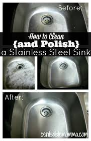 how to keep stainless steel sink shiny how to clean and polish a stainless steel sink stainless steel