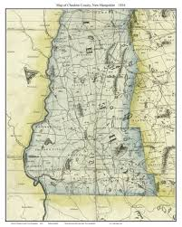 New Hampshire State Map by Maps Of New Hampshire Counties From The 1816 Carrigain State Map