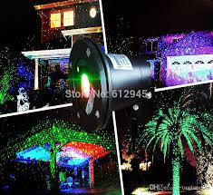 christmas waterproof laser landscape lighting for outdoor sky star