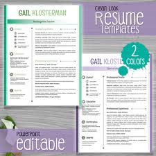 Powerpoint Resume Powerpoint Resume Template Resume Template In Ppt Fitzroy Border