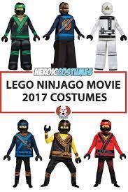 lego ninjago movie 2017 costumes zane cole jay kai lloyd