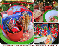 kitchen basket ideas sself chekmarev dollar store last minute gift