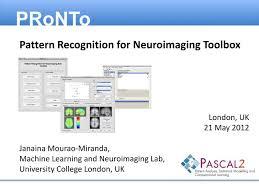 pattern recognition and machine learning epfl ppt london uk 21 may 2012 janaina mourao miranda machine