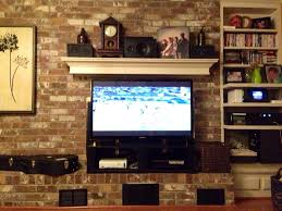 Puttv Tv In Front Of Fireplace Diy Tv Stand Jtsternbergdotcom Home