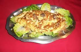 cuisiner des coulemelles omelette farcie aux coulemelles recette dukan pl par mamie25