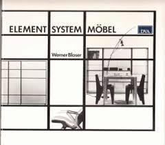 architektur mã bel 9783421028228 element system möbel wege der architektur