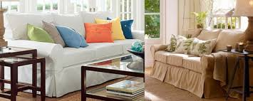 Pottery Barn Loose Fit Slipcover Slipcovers That Fit Pottery Barn Basic Sofa Scifihits Com