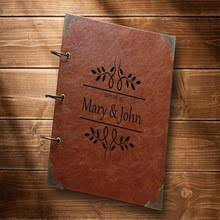 Leather Guest Book Leather Wedding Guest Book Online Shopping The World Largest