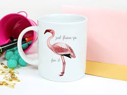 flamingo gifts pink flamingo mug cute flamingo gift