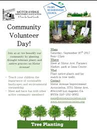 native plants los angeles join us for a tree planting this saturday 9a 12p on motor ave