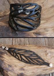 leather leaf bracelet images Leather leaf bracelet karma east jpeg