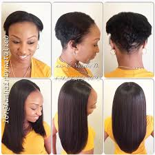 vixen sew in on short hair don t let short hair stop you from wearing a sew in hair weave as