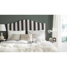 charming black and white headboard contemporary headboards home