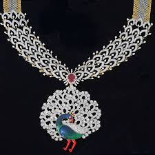 indian bridal jewelry necklace images Indian bridal jewellery american diamond high quality necklace set jpg