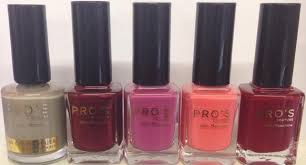 pro u0027s couture star manicure nail polish pack of 48 exquisite