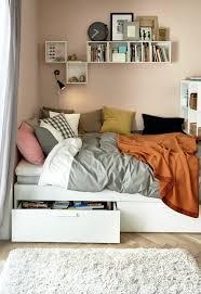 Bedroom Decor Without Headboard Brimnes Bedbank Met 2 Lades Wit Bedrooms Room And Room Ideas