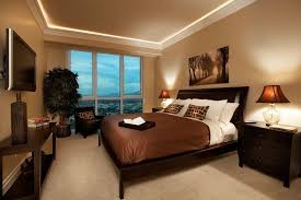 Modern Guest Bedroom Ideas - modern guest bedroom with carpet u0026 crown molding in las vegas nv