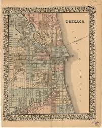 Chicago Maps by File 1870 Chicago Map By Mitchell Jpg Wikimedia Commons