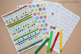 2013 printables colour your own wrapping paper