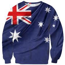 Aussie Flag Australian Flag Sweater Shelfies