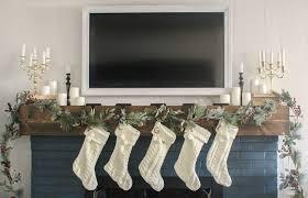 christmas mantel how to create a classic christmas mantel around an tv