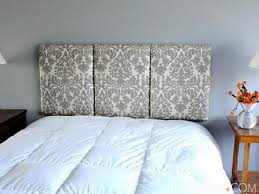 How To Make Headboard Wonderful Make A Headboard For Your Bed Best Design Ideas 501