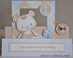 birthday card for grandson 1st birthday alanarasbach com