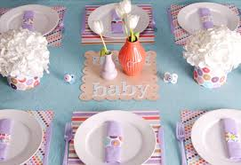 baby shower table settings what your baby shower says about you mommyish