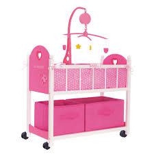 siege auto pour poupon lit de poupée en bois équipé bebe king jouet accessoires