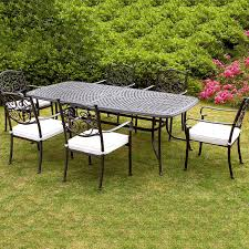 Metal Garden Table Wonderful Outdoor Patio Furniture Sets All Home Decorations