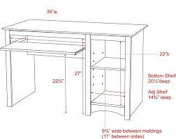 Average Office Desk Height Average Desk Size Socialmediaworks Co