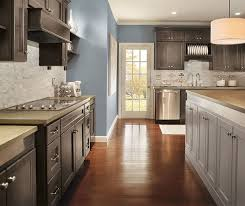 gray brown stained kitchen cabinets the cool gray brown tones of the anchor stain shown here on