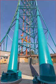 Kingda Kong Six Flags Zumanjaro Drop Of Doom How Scary Is Built Maser Consulting Pa