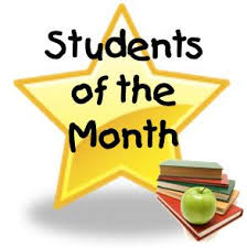 of the month students of the month