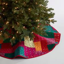 tree skirts sari patchwork tree skirt world market