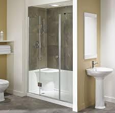 Bathroom Shower Base Neptune Koya Acrylic Shower Base With Seat 60x32 Acrylic Shower