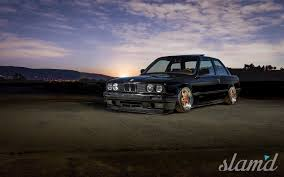 stancenation bmw e30 evening light abraham cruz u0027 1989 bmw e30 u2013 slam u0027d mag