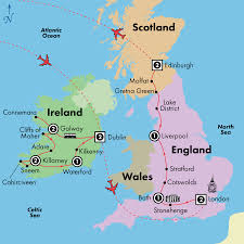 Condor Airlines Route Map by 15 Day Ireland England U0026 Scotland Visit Bath Dublin Edinburgh