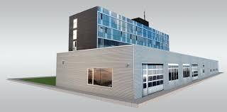 modern suburban office 3d model cgtrader