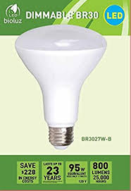 br30 bright led light bulbs by bioluz led instant on warm white