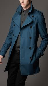 burberry london men s wool trench coat men s fashion