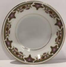 antique china pattern silesia sil45 pattern dessert fruit sauce bowl 1900 1920 antique